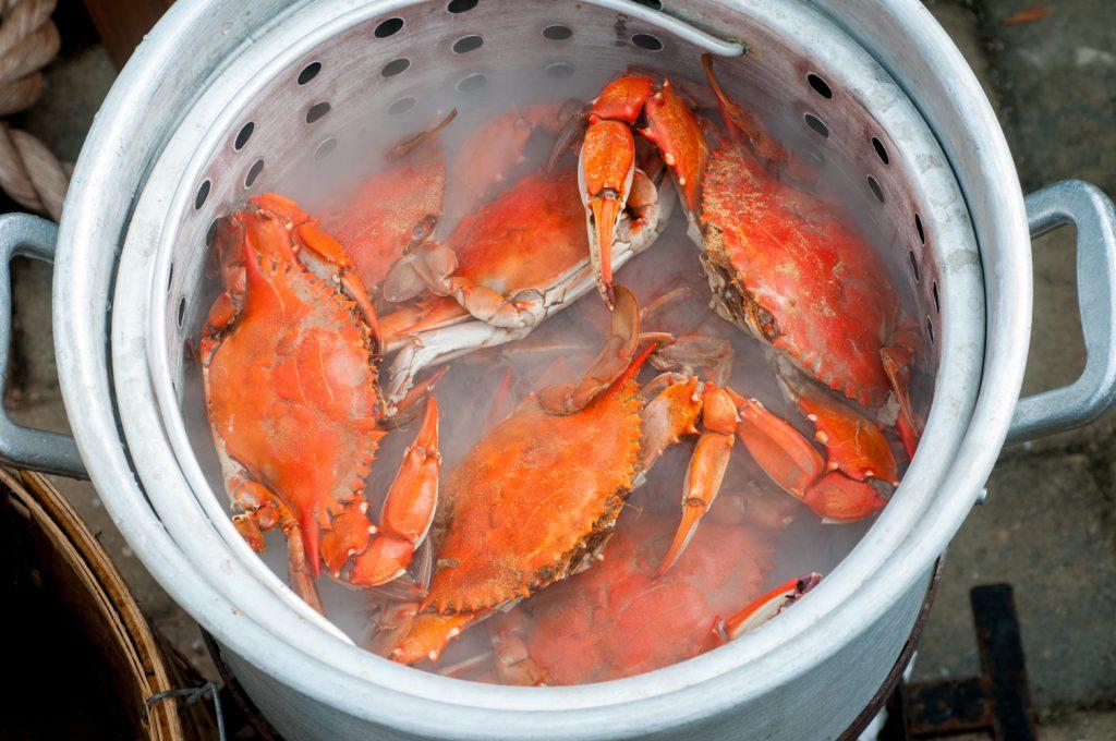 Steamed Crab Pot